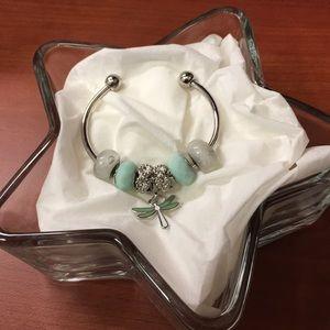 Jewelry - Custom Crafted Beaded Bracelet- Green